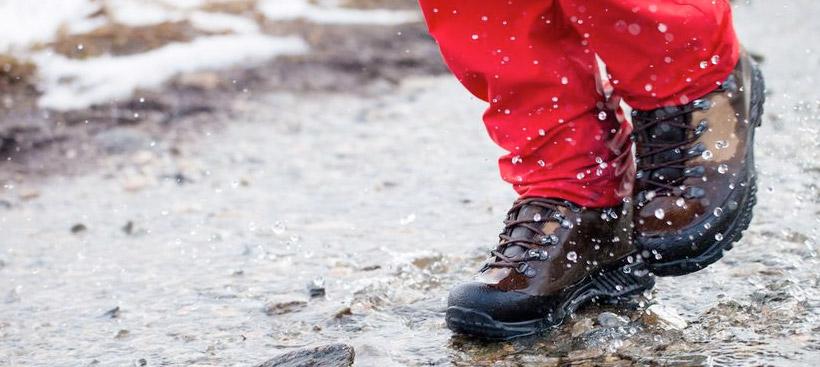 Что делать если обувь промокла?
